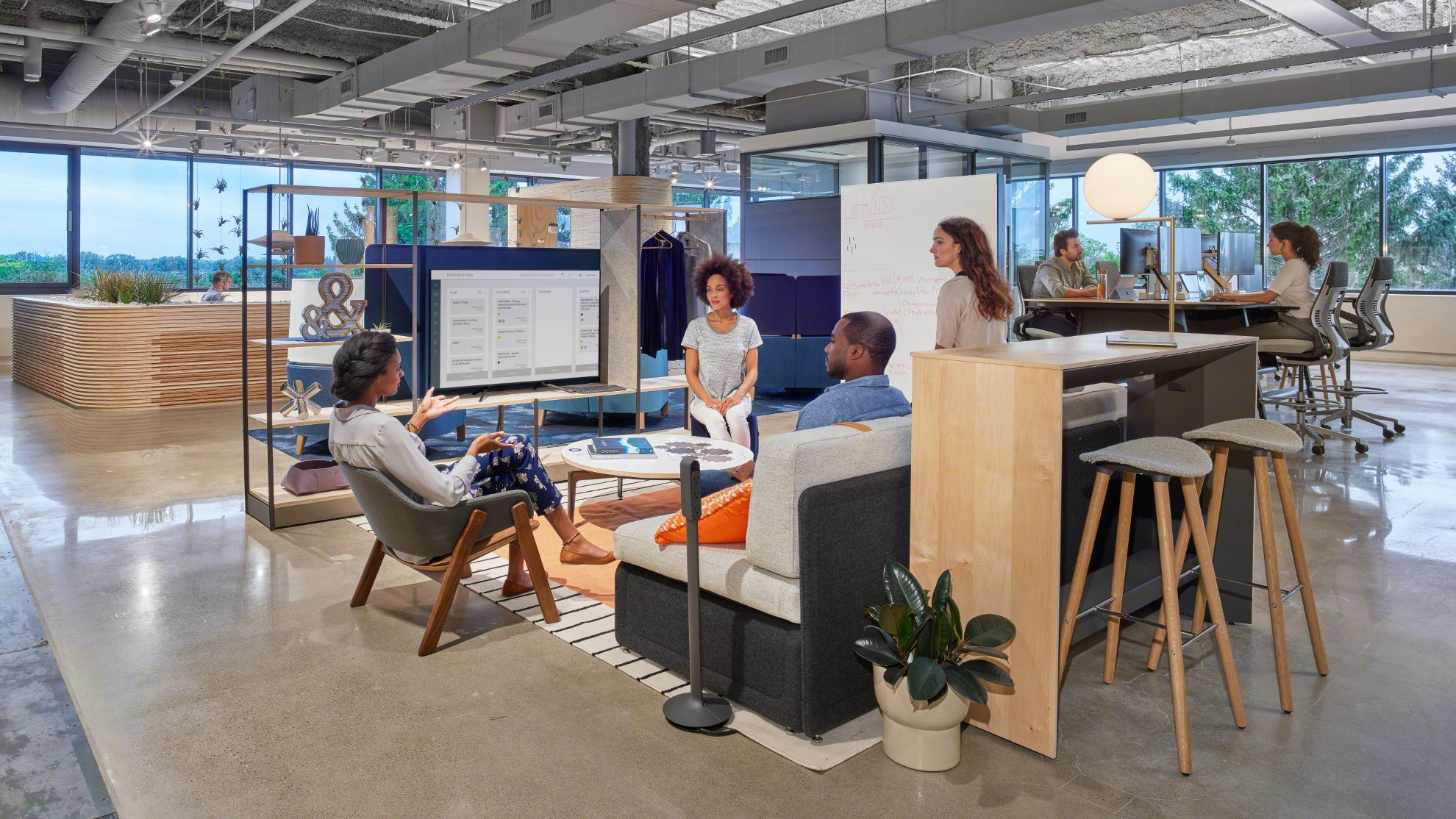 3 Ways Inspiration from Home Can Improve Your Commercial Workspace