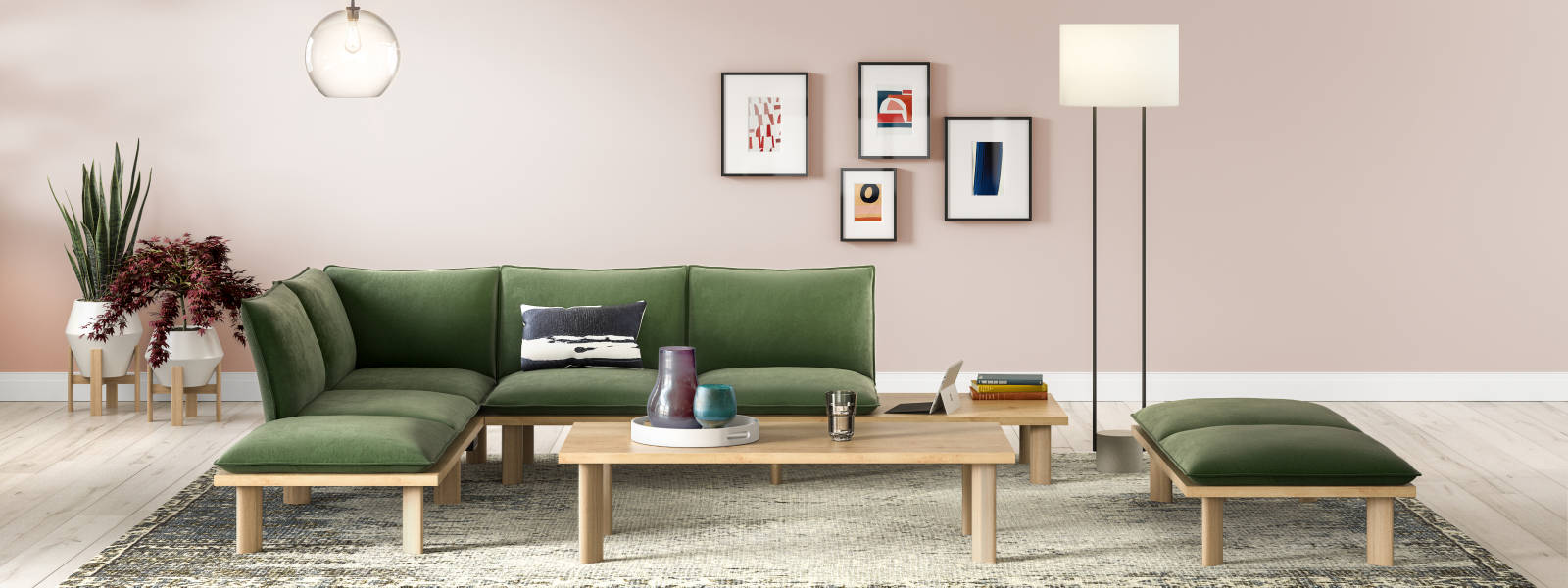 Top Three Trending Office Colors for 2020: How to create a fresh space using color.