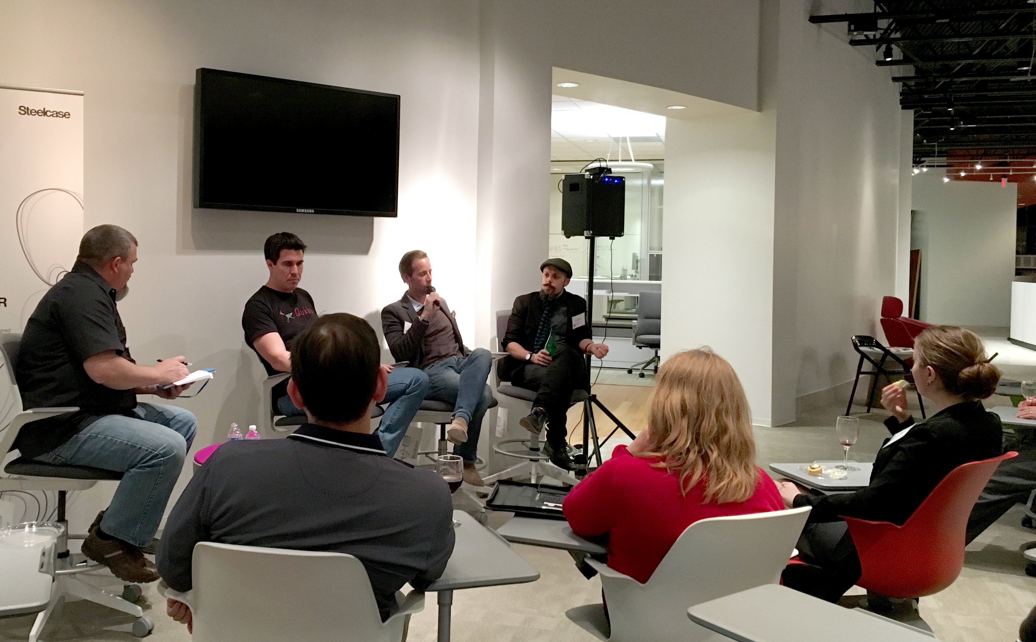 StartUp Culture: An Evening with 3 Founders