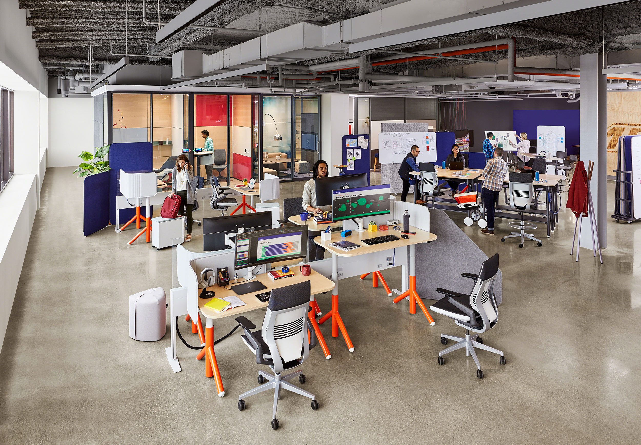 Support Agile Teams with the Right Furniture & Technology Combination.