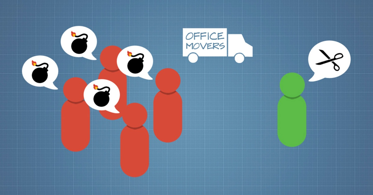 Overcoming Conflict After an Office Move