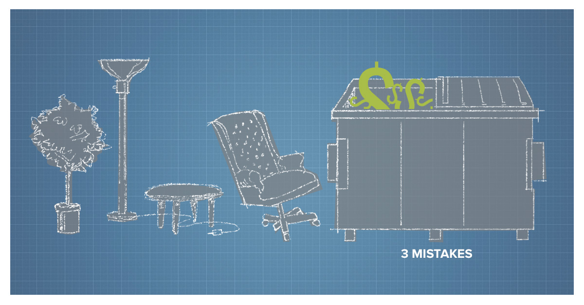 Three Mistakes to Avoid When Redesigning Your Office